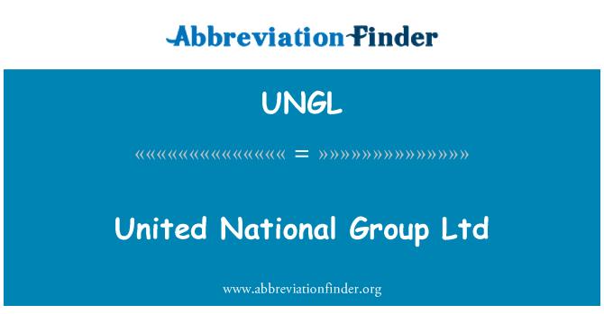 UNGL: United National Group Ltd