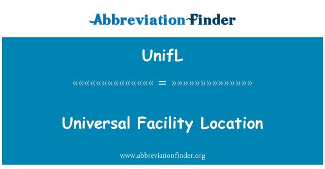 UnifL: Ubicación de instalación Universal