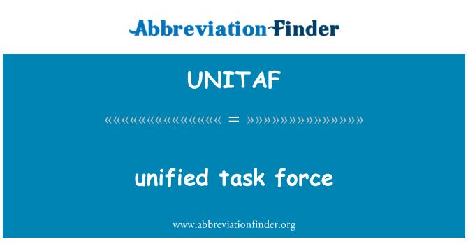 UNITAF: enhetlig arbetsgrupp