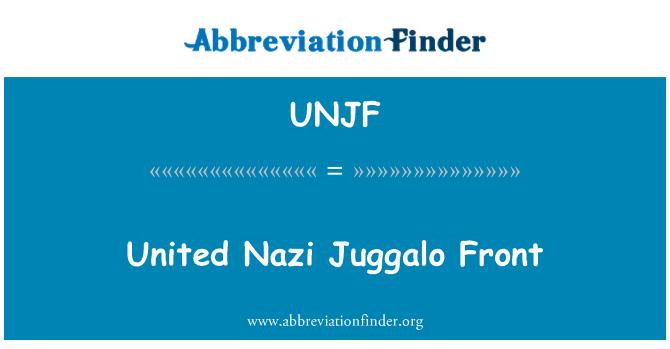 UNJF: United Nazi Juggalo Front