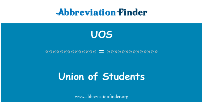 UOS: Union of Students