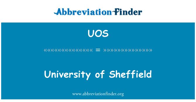 UOS: Universidad de Sheffield