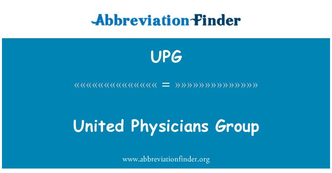 UPG: Grupo de médicos Unidos