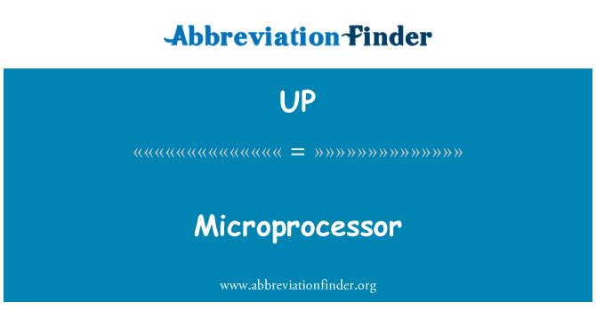 UP: Microprocessor