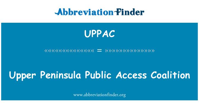 UPPAC: Upper Peninsula Public Access Coalition