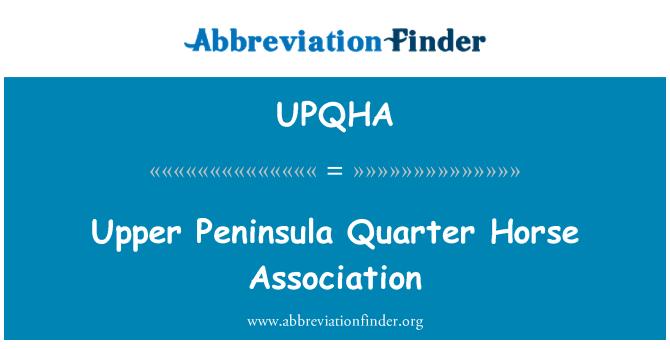 UPQHA: Upper Peninsula Quarter Horse Association