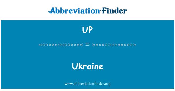 UP: Ukraine