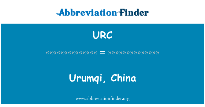 URC: Urumqi, China