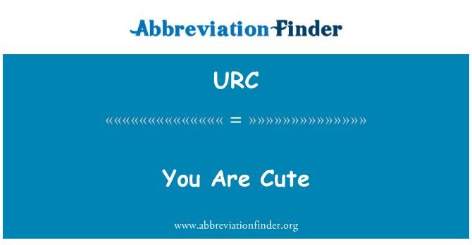 URC: Eres agradable