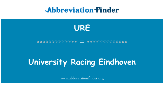 URE: University Racing Eindhoven
