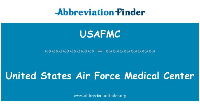 USAFMC: Spojené státy letecké síly lékařské centrum