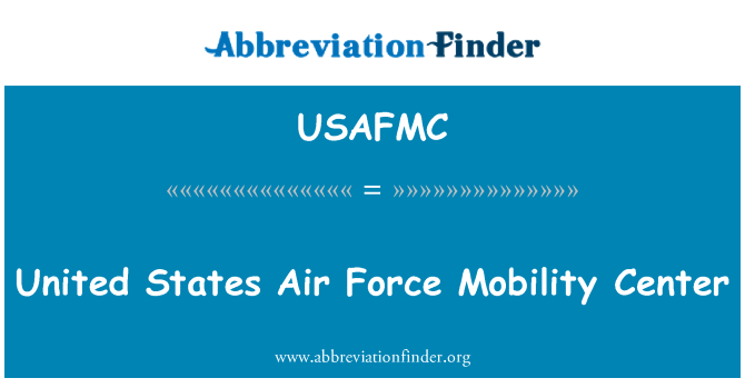 USAFMC: Sjedinjene Države klima snage centar za mobilnost
