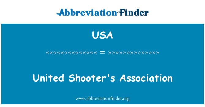 USA: Veľká strelec asociácie