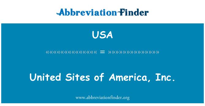 USA: 美国公司的联合国的网站