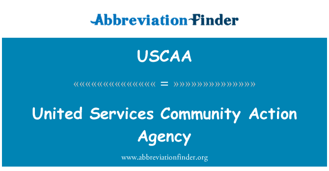 USCAA: United Services Community Action Agency