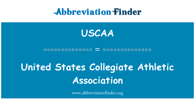 USCAA: United States Collegiate Athletic Association