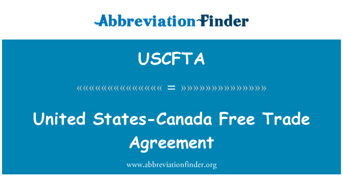 a discussion about canada and united states trade agreement The north american free trade agreement (nafta) is a treaty entered into by the united states, canada, and mexico it went into effect on january 1, 1994 (free trade had existed between the us .