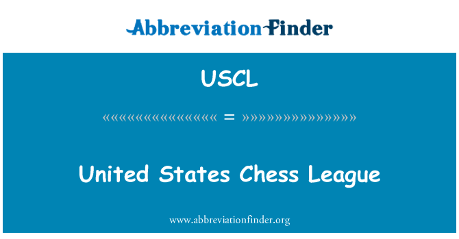 USCL: United States Chess League