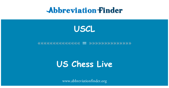 USCL: Ajedrez de Estados Unidos en vivo