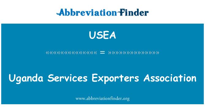 USEA: Uganda teenuste eksportijad Assotsiatsiooni