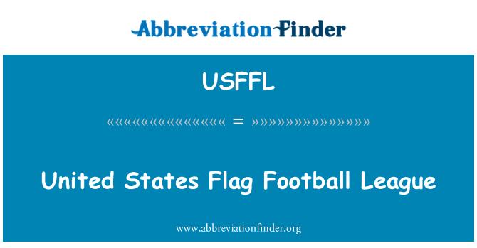 USFFL: United States Flag Football League