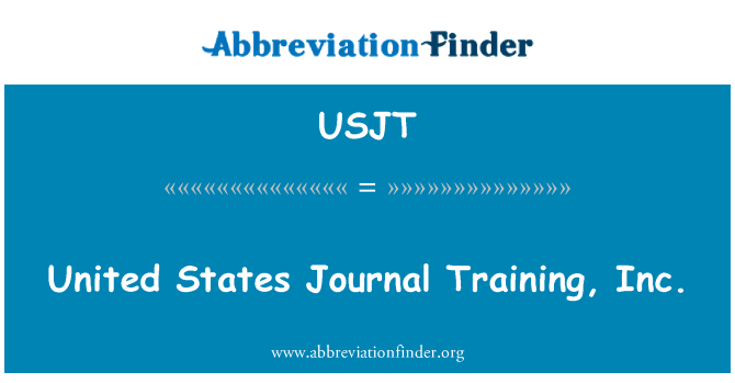 USJT: United States Journal Training, Inc.