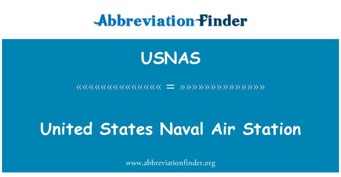 USNAS: Estación de aire Naval de Estados Unidos