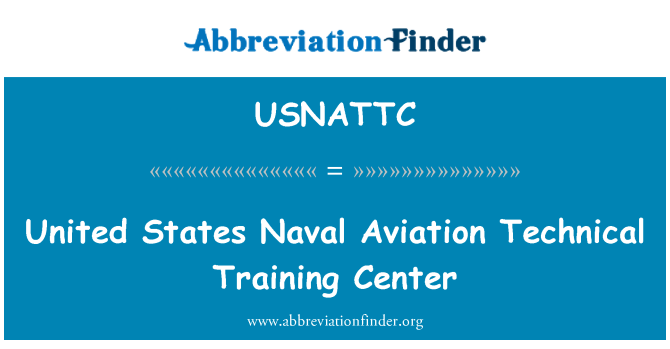 USNATTC: United States Naval Aviation Technical Training Center