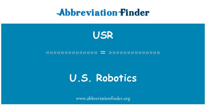 USR: U.S. Robotics