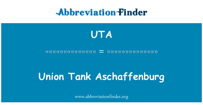 UTA: Union Tank Aschaffenburg