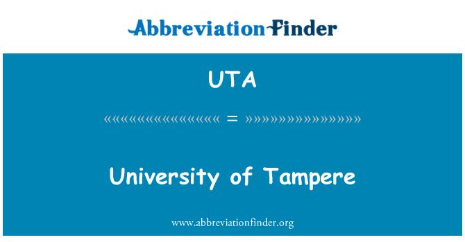 UTA: University of Tampere