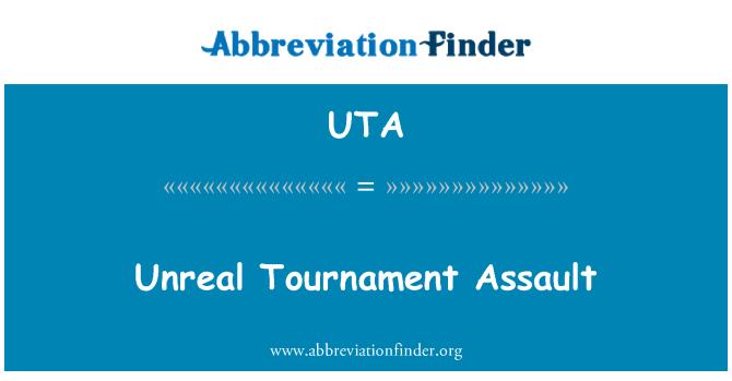 UTA: Unreal Tournament Assault