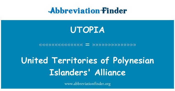 UTOPIA: پاولنیشیان آئلینڈر اتحاد کی متحدہ بلحاظ