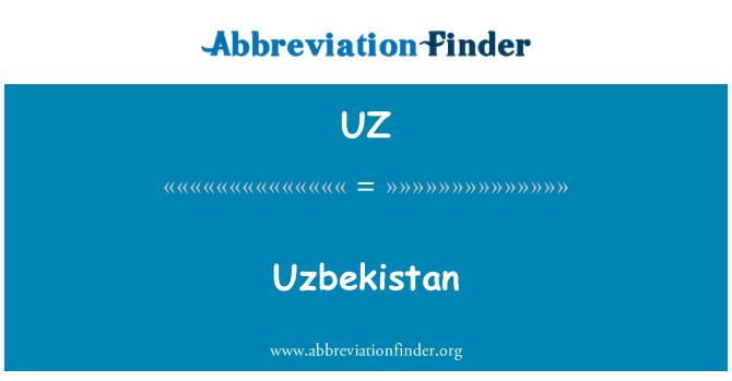 UZ: Uzbekistan