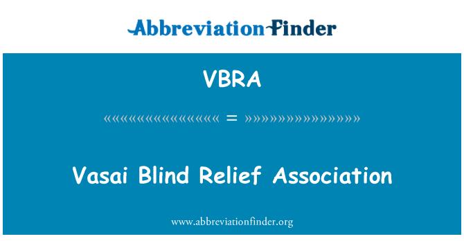VBRA: Vasai Blind Relief Association