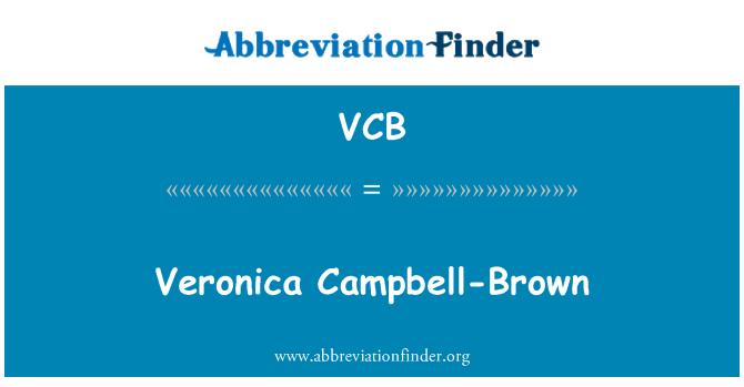 VCB: 维罗妮卡 Campbell 布朗