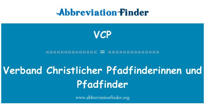 VCP: 羽毛球协会 Christlicher Pfadfinderinnen 和 Pfadfinder