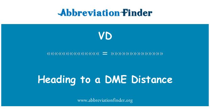 VD: 抽穗至二甲醚距离