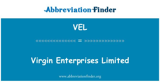 VEL: 维尔京企业有限公司