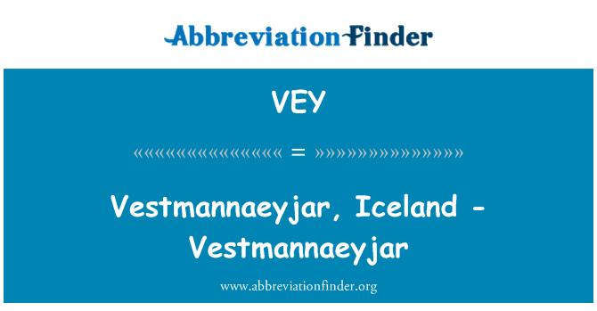 VEY: Κατεψυγμένα, Ισλανδία - κατεψυγμένα