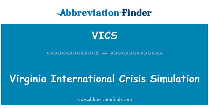 VICS: Virginia rahvusvahelise kriisi simulatsioon