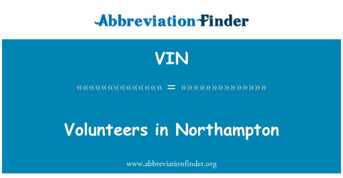 VIN: Volunteers in Northampton