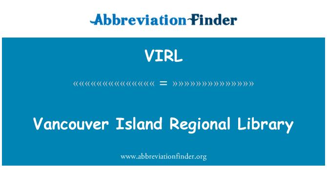 VIRL: Vancouver Island Regional Library
