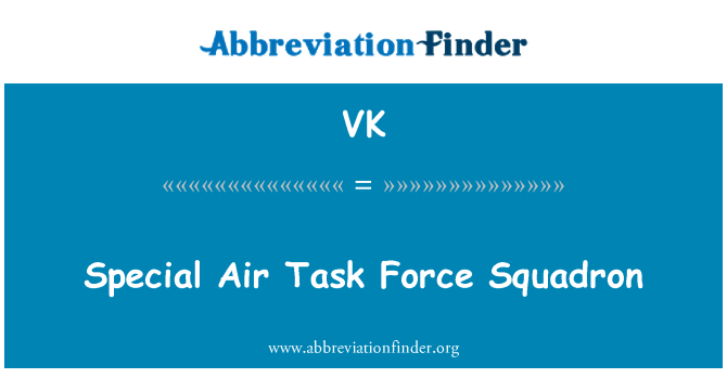VK: Special Air Task Force Squadron