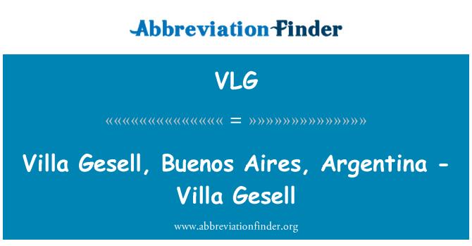 VLG: Villa Gesell, Buenos Aires, Argentina - Villa Gesell