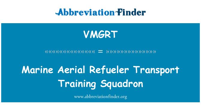 VMGRT: Marine Aerial Refueler Transport Training Squadron