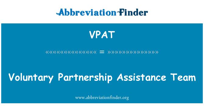 VPAT: Vabatahtliku partnerluse toetusrühm