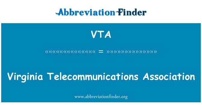 VTA: Virginia Telecommunications Association