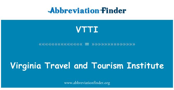 VTTI: Virginia viajes y Turismo Instituto
