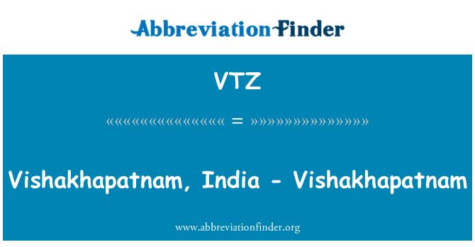 VTZ: Vishakhapatnam, India - Vishakhapatnam